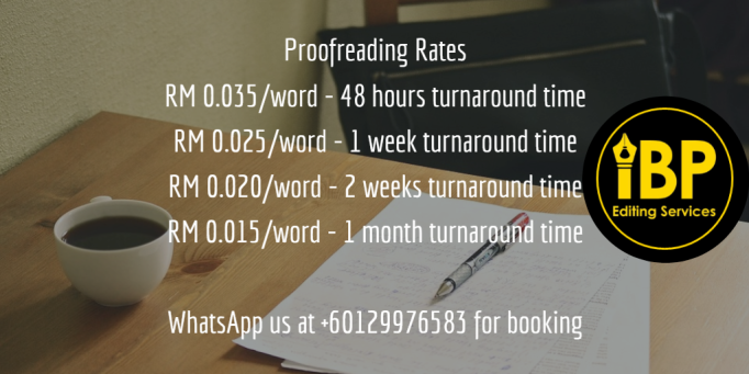 Proofreading | IBP Editing Services